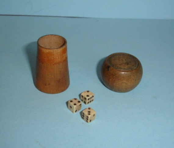 Champagne Cork With Dice