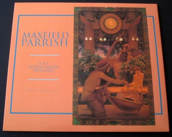 Maxfield Parrish, The Edison Mazda Paintings, portfolio of prints