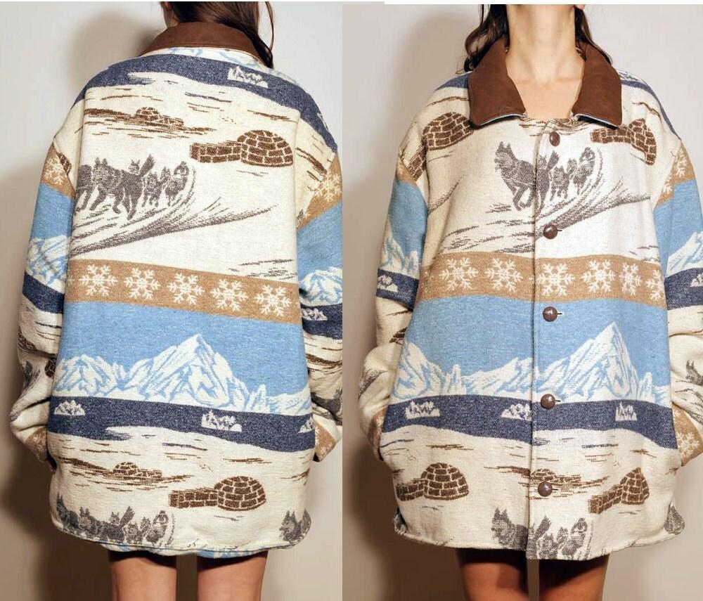 reserved for sora vintage husky eskimo winter jacket