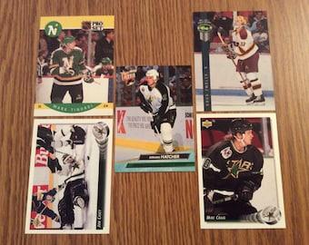 25 Minnesota North Stars (Dallas Stars) Hockey Cards