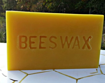 1lb Beeswax Block