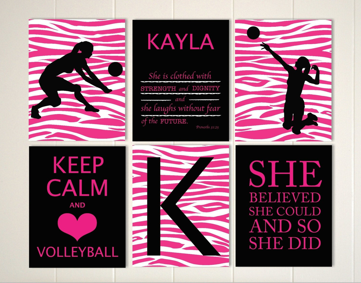 zoom - Volleyball Bedroom Decor