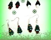 Swarovski Christmas Tree Earrings Assortment