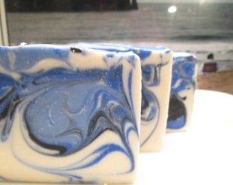 Aqua Soap Men's Handmade Cold Process Soap Vegan Soap