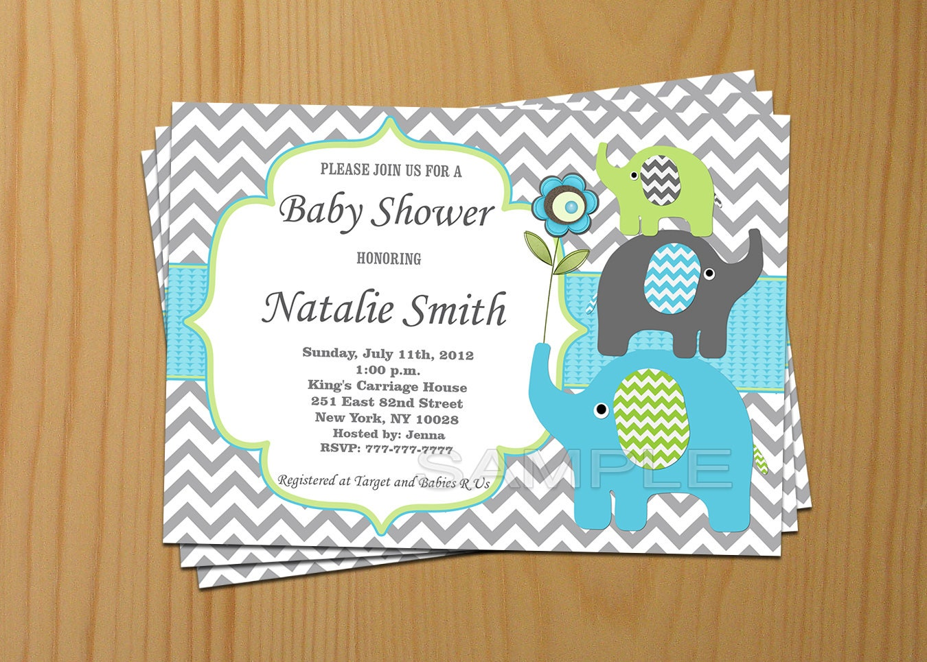 boy baby shower invitation elephant baby shower invitations