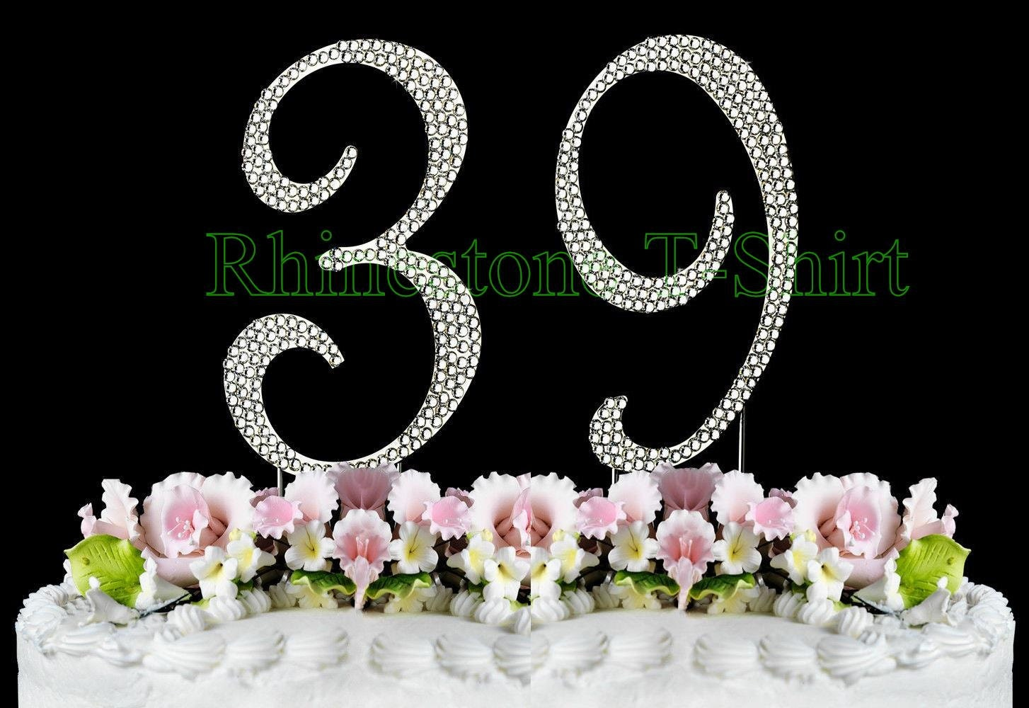 Large Cake Topper Numbers