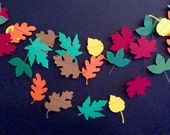 Paper Garland : Fall Leaves