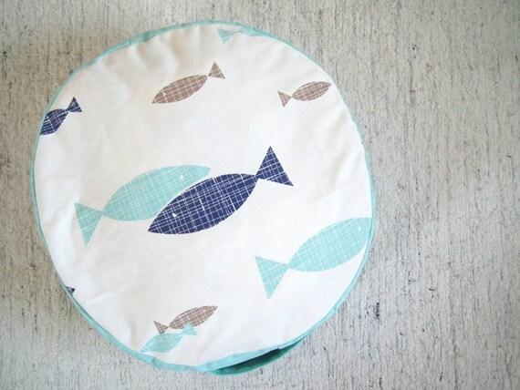Nautical Floor Pillows : Floor Cushion-Nautical Nursery Decor-Kids Furniture-Canvas