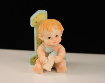 1st Birthday Boy Cake Topper