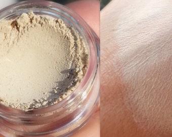 NEW! VANILLA CREAM Matte Vegan Eyeshadow and Eyeliner Makeup- All Natural, Vegan Friendly