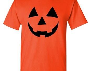 jack o lantern HALLOWEEN PUMPKIN t-shirt tee shirt short or long sleeve your choice! all sizes