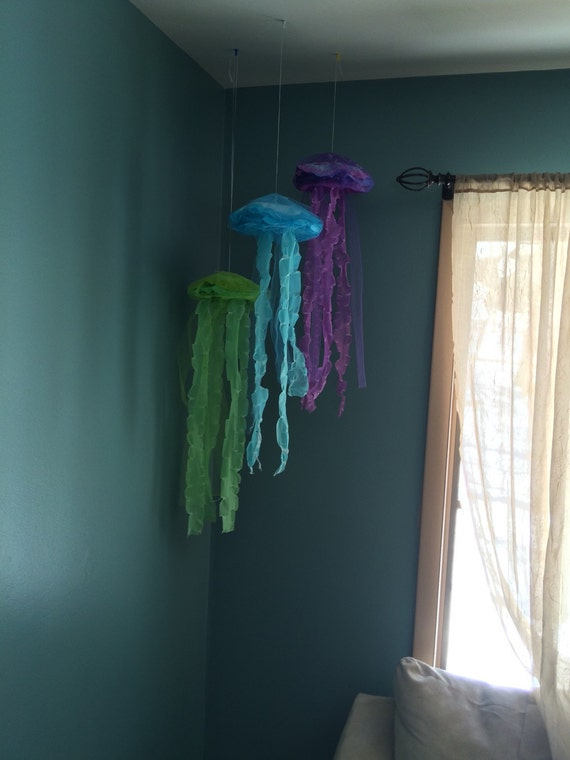 jellyfish hanging decor bubble guppies under the by