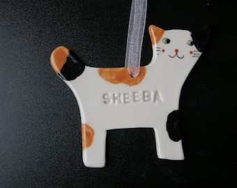 Personalized cat | Etsy