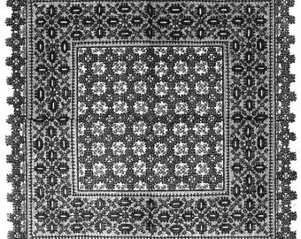 AG1616 - 1887 Table Mat Pattern by Ageless Patterns