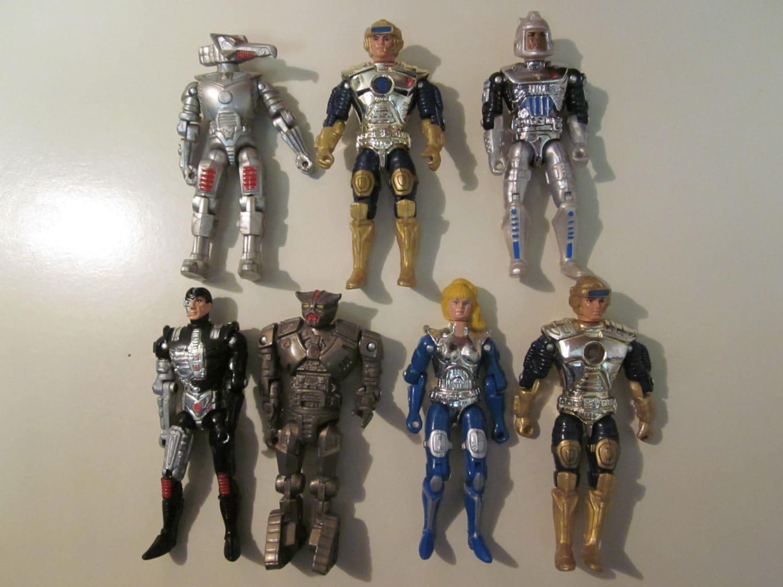 80s Toys Action Figures : Captain power action figure lot vintage s toy line free
