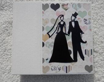 6x6 Chipboard Wedding Chipboard Scrapbook Album