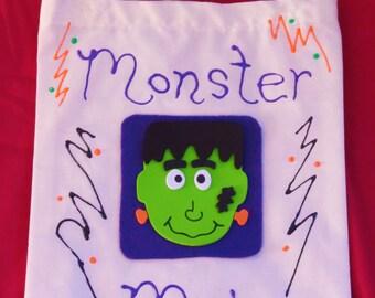 Monster Mash Trick or Treat Bag
