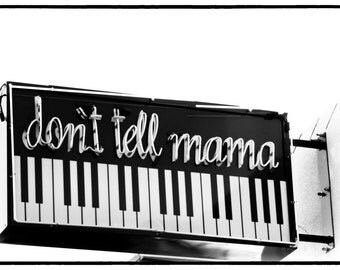 Don't Tell Mama Las Vegas Bar Sign Retro Bar Sign Neon Bar Sign Bar Decor Retro Bar Decor Las Vegas Sign Vintage Bar Decor Sign Photography