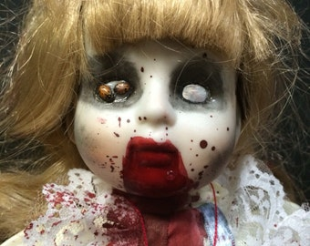 Custom Sew Skustin Horror Doll