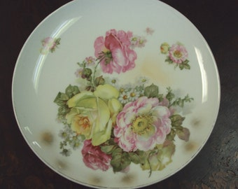 Rose Plate 10.5 inches