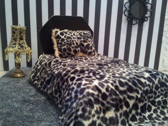 cheetah print bedroom set monster by freakyfriends4u on etsy