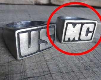USMC ring set (MC ring only for this listing) 2nd ring of set