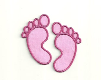 Baby Footprint, Patch! Custom Made!