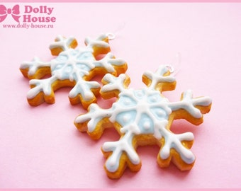 Sweet Snow Princess Earrings by Dolly House