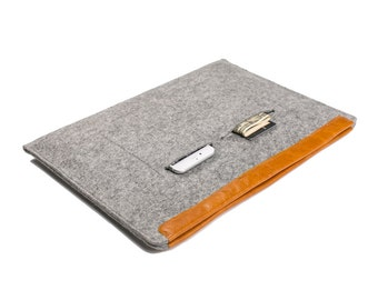 Solucky Macbook Air Pro Retina 13 Inch Sleeve Surface Book Wool Felt Case Cover 2015 New Dell XPS 13 Bag Laptop Sleeve
