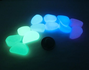 Luminous Glow-In-The-Dark Pebbles/Rocks/Stones
