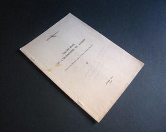 1953, Daniel - Rops ou l'humanisme en action, signed