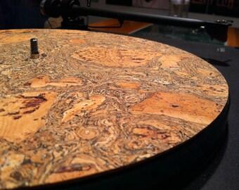 Corkstone Cork Turntable Mat (without cork dots) : Vinyl LP Record Mat