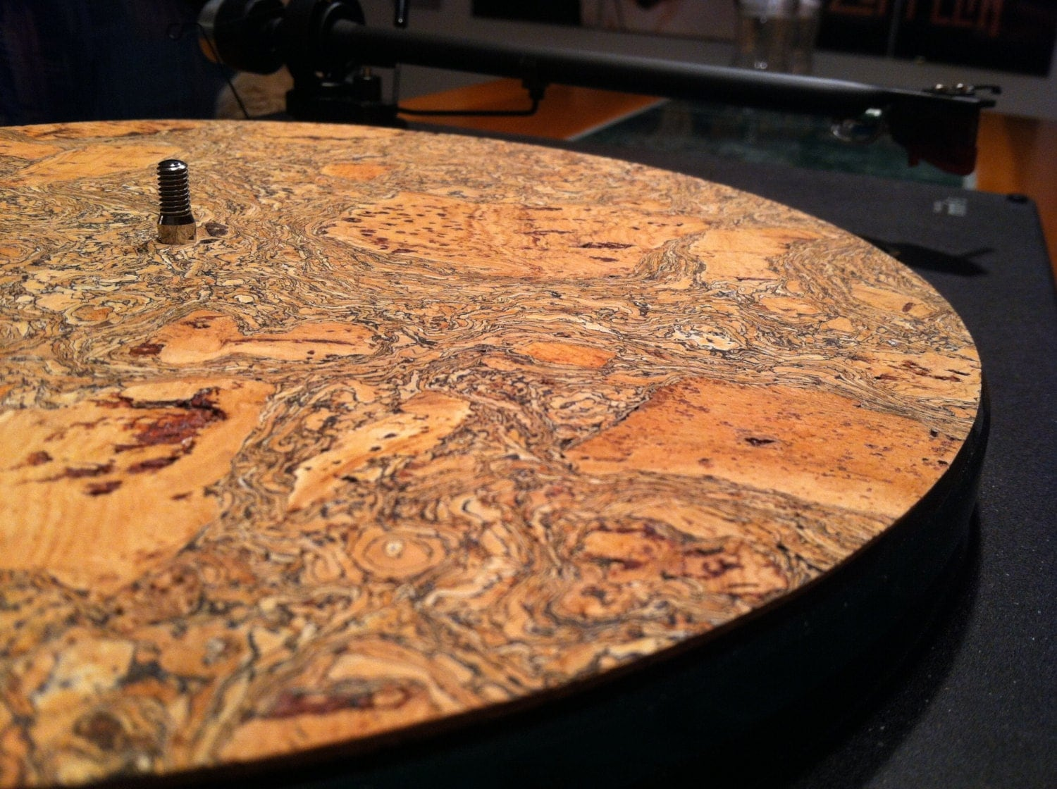 Corkstone Cork Turntable Mat Without Cork Dots Vinyl Lp