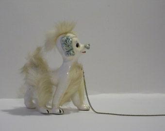 Poodle/Poodle Statue/Vintage Poodle/Dog Statue/Ceramic Poodle/Ceramic Dog