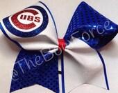 Cubs Softball/Cheer Bow - #224084415