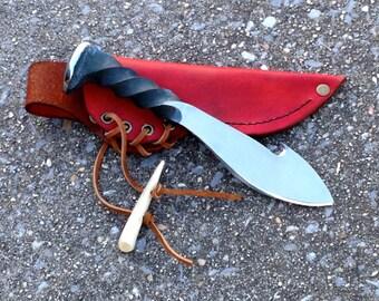 Railroad Spike Knife AP116