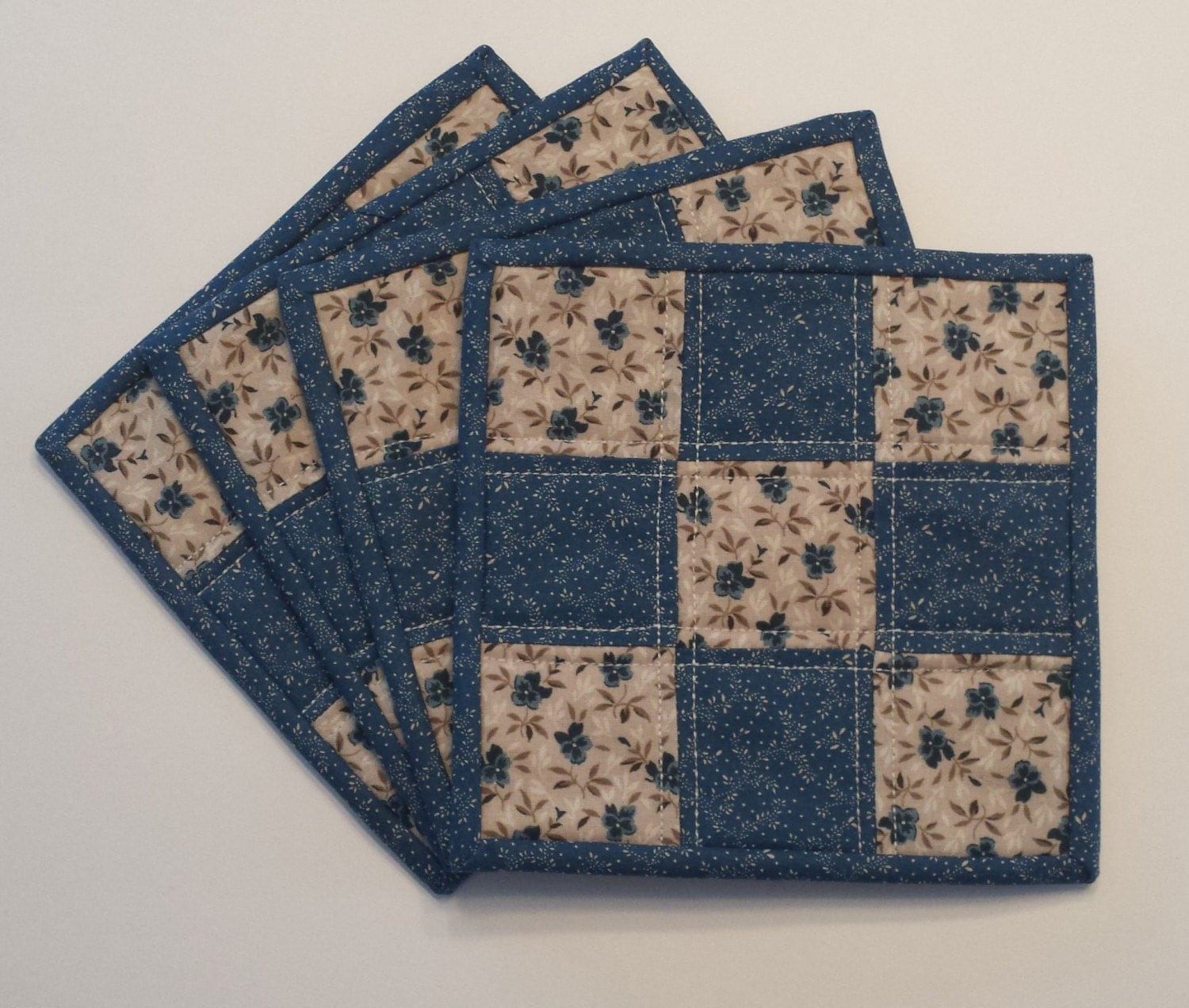 Quilted Mug Rugs Mug Rugs Quilted Coasters Coasters