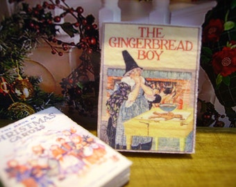 The Gingerbread Boy Miniature Book 1:12