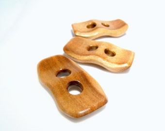 Beautiful Acacia Wood Buttons