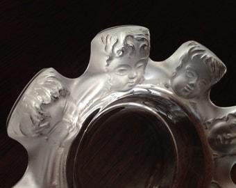 Lalique 'Saint Nicolas' Ashtray/Trinket Bowl