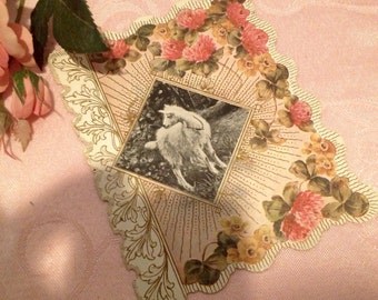 Lovely Victorian Greeting Card