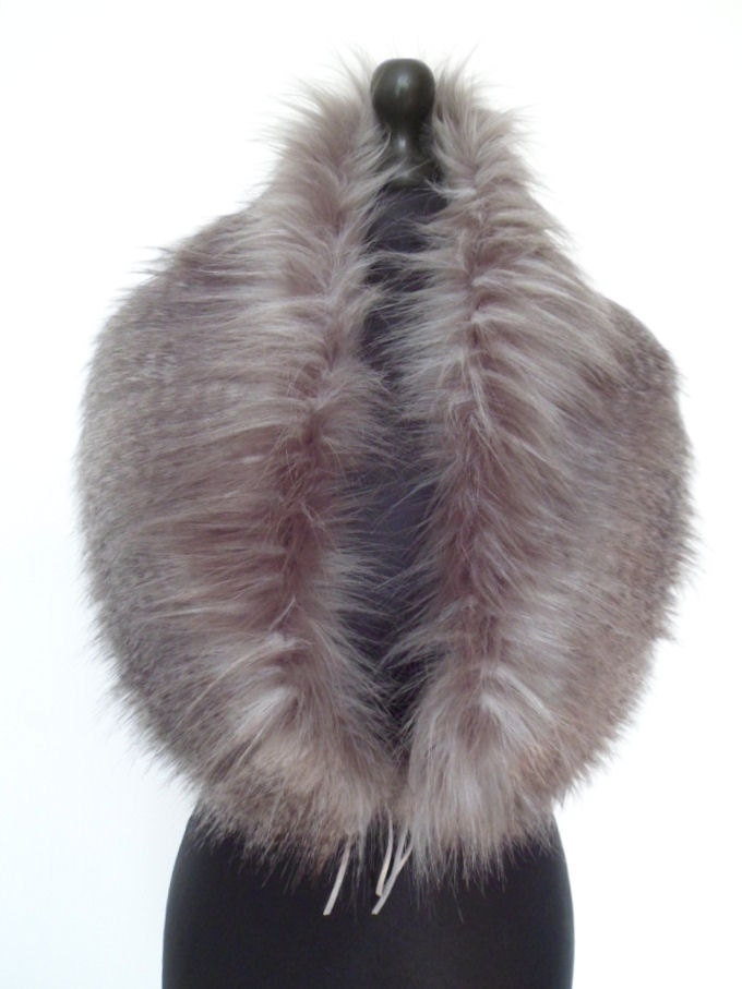 how to clean fake fur collar