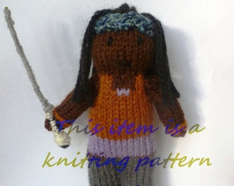 PDF knitting pattern: Michonne (The Walking Dead)