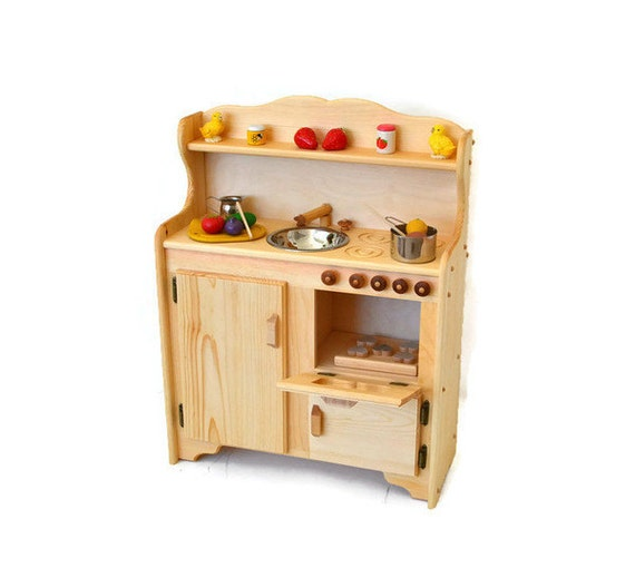 Waldorf Child 39 S Kitchen Wooden Play Kitchen Wooden Toy