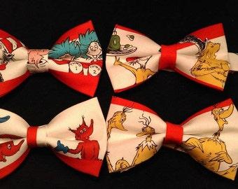 Dr. Seuss Themed Bow Tie