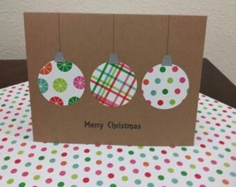 Handmade Christmas Cards - Set of 8