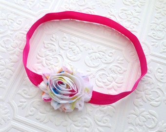 The Party Dot Shabby Chic Headband or Hair Clip