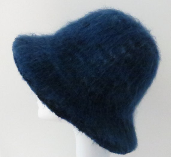 Felted Hat Pattern #204 Flat Brim Hat using Lambs Pride ...