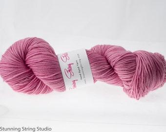 Cherry Blossom - Stunning Superwash Fingering Weight - 100% Superwash Merino - 100 g - 475 yds