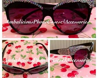 Dazzling Cat-Eye Sunglasses
